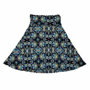 EUC LuLaRoe Azure Full Circle Skirt